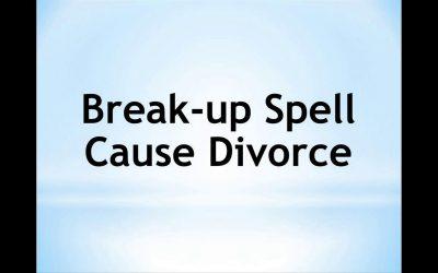 Magic Spells For Quick Divorce